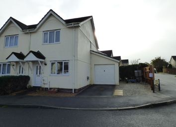 Thumbnail 2 bed semi-detached house for sale in Vixen Tor Close, Okehampton