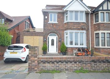 Thumbnail 3 bed semi-detached house for sale in Park Road, Blackpool