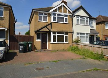 Thumbnail 3 bed semi-detached house to rent in Winchester Way, Croxley Green, Rickmansworth Herts
