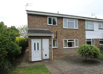 Thumbnail 2 bedroom maisonette for sale in Ridgeway, Stowmarket