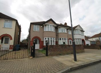Thumbnail 3 bed semi-detached house to rent in Balmoral Road, South Harrow