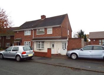Thumbnail 3 bed semi-detached house for sale in Parker Road, Ashmore Park, Wolverhampton, West Midlands