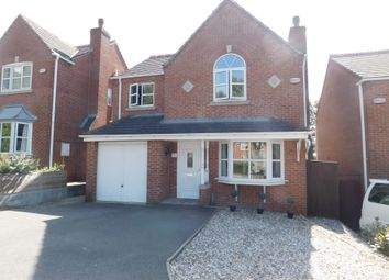 Thumbnail 4 bed detached house for sale in Coronation Street, Swadlincote