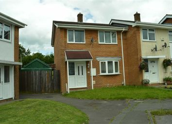 Thumbnail 3 bed end terrace house for sale in Gwalia Close, Swansea