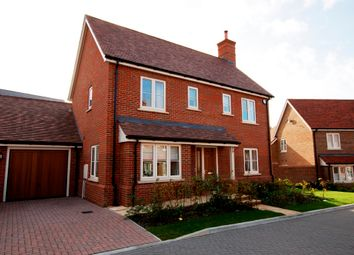 Thumbnail 4 bed detached house for sale in Neville Close, Hartley Wintney, Hook