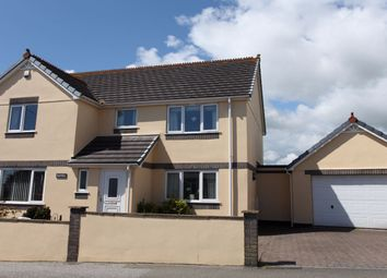 Thumbnail 4 bed detached house to rent in Brockstone Road, St Austell, Cornwall