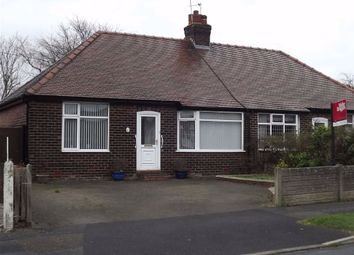 Thumbnail 2 bed semi-detached bungalow to rent in Albert Road, Grappenhall, Warrington