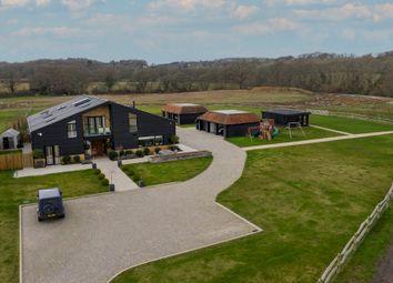 Pitt Lane, Frensham, Farnham GU10. 7 bed barn conversion for sale