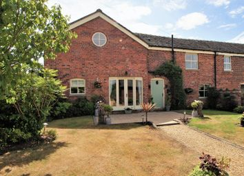 Thumbnail 4 bed barn conversion for sale in Mill Lane, Holmes Chapel, Crewe