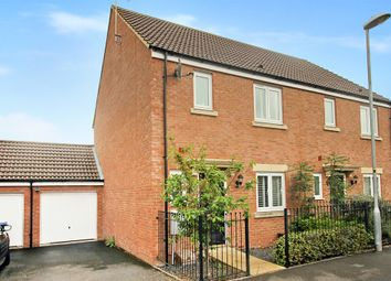 Thumbnail 3 bed semi-detached house for sale in Swaledale Road, Warminster