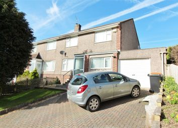 Thumbnail 3 bed semi-detached house for sale in Glanmor Crescent, Newport