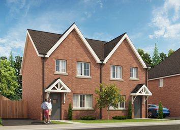 Thumbnail 3 bedroom semi-detached house for sale in St Dominic's Place, Hartshill Road, Stoke-On-Trent