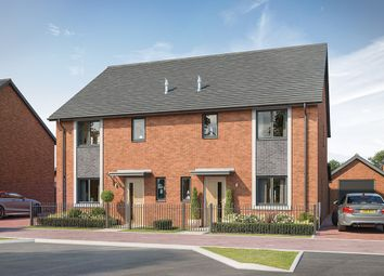 "Thumbnail 3 bed property for sale in ""The Kingham"" at Elmswell Gate, Wavendon, Milton Keynes"