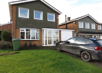 Thumbnail 3 bedroom detached house for sale in Quinton Avenue, Great Wyrley, Walsall