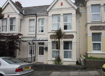 Thumbnail 3 bed terraced house to rent in Edgecumbe Park Road, Peverell
