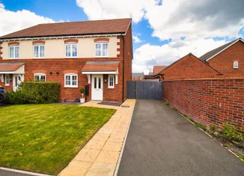 Thumbnail 4 bed semi-detached house for sale in Ravencroft Street, Moulton, Northwich