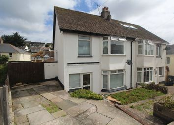 Thumbnail 3 bed semi-detached house for sale in Blatchcombe Drive, Paignton