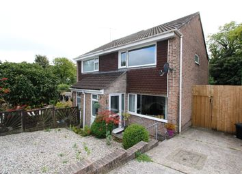 Thumbnail 2 bed semi-detached house for sale in Hawthorn Avenue, Torpoint, Cornwall