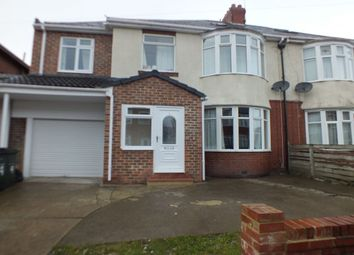 Thumbnail 6 bed semi-detached house for sale in Middleton Avenue, Newcastle Upon Tyne