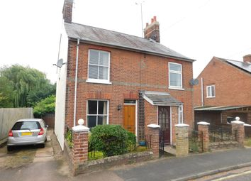 Thumbnail 2 bedroom semi-detached house for sale in Newton Road, Stowmarket