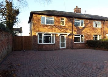 Thumbnail 3 bed property to rent in Burton Road, Lichfield
