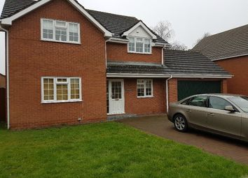 Thumbnail 4 bed detached house to rent in Church Road, Tupsley, Hereford