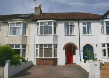 Thumbnail 3 bed terraced house to rent in Tuffley Road, Westbury-On-Trym, Bristol
