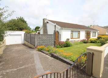 Thumbnail 3 bed detached bungalow for sale in Priory Lodge Close, Milford Haven, Pembrokeshire.