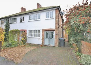 Thumbnail 3 bed end terrace house for sale in South Road, Englefield Green, Surrey