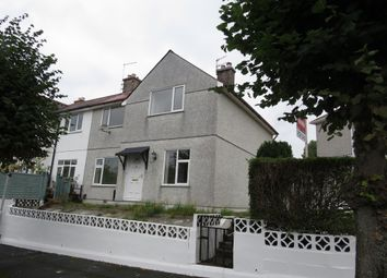 Thumbnail 4 bed semi-detached house for sale in Mount Gould Avenue, Plymouth