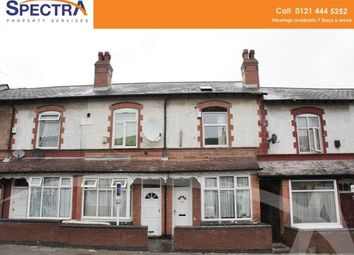 Thumbnail 4 bed terraced house to rent in Uplands Road, Handsworth