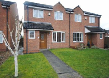 Thumbnail 3 bed semi-detached house for sale in Frecheville Street, Staveley, Chesterfield, Derbyshire