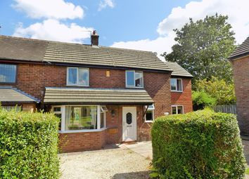 Thumbnail 3 bed semi-detached house for sale in Duke Avenue, Glazebury, Warrington