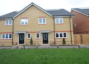 Thumbnail 4 bed semi-detached house to rent in Holywell Way, Staines