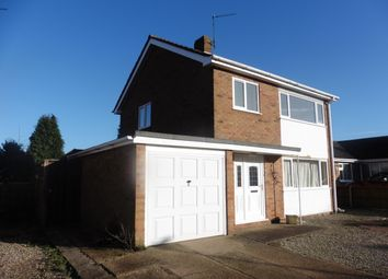 Thumbnail 3 bed detached house to rent in Digby Drive, Fakenham