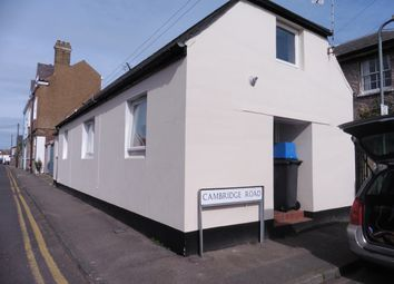 Thumbnail 1 bed semi-detached house to rent in Cambridge Rd, Walmer, Deal