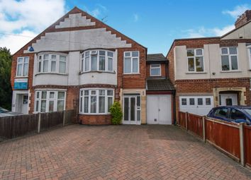 Thumbnail 4 bedroom semi-detached house for sale in Wigston Road, Oadby, Leicester