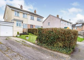 Thumbnail 2 bed semi-detached house for sale in Bodmin, Cornwall, England