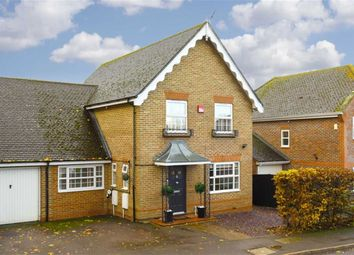 Thumbnail 5 bed link-detached house for sale in Manor Crescent, Epsom, Surrey