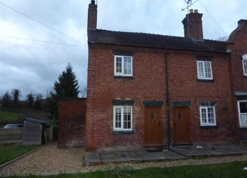 Thumbnail 2 bed end terrace house to rent in The Square, Fole, Uttoxeter