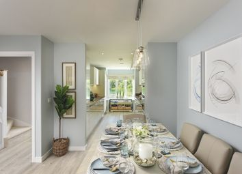 Thumbnail 4 bed end terrace house for sale in Holborough Lakes, Manley Boulevard, Snodland, Kent