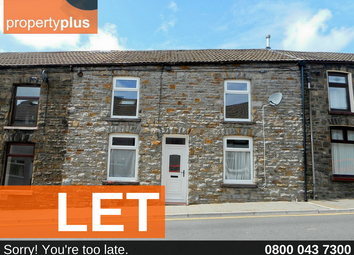 Thumbnail 3 bed terraced house to rent in Tylorstown -, Ferndale