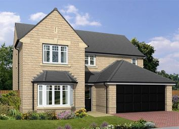 "Thumbnail 4 bedroom detached house for sale in ""The Warkworth"" at Burn Road, Huddersfield"