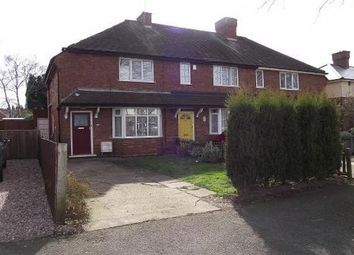 Thumbnail 2 bed property to rent in Leighswood Avenue, Aldridge, Walsall