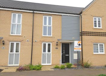 Thumbnail 2 bed terraced house to rent in Queens Hills, Costessey