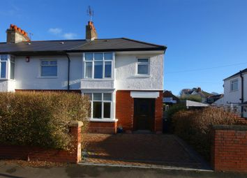 Thumbnail 3 bedroom property for sale in Fairwater Grove East, Llandaff, Cardiff