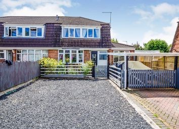 Thumbnail 3 bed semi-detached house for sale in Ferrers Close, Castle Donington, Derby