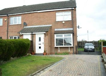Thumbnail 2 bed semi-detached house for sale in Birchwood Close, Broadmeadows, South Normanton, Alfreton