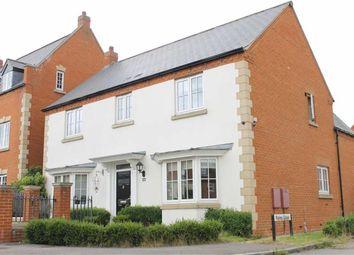 Thumbnail 4 bed detached house to rent in Saltwood Avenue, Kingsmead, Milton Keynes