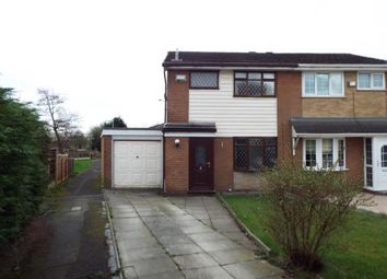 Thumbnail 3 bed semi-detached house for sale in Somerton Road, Bolton, Greater Manchester
